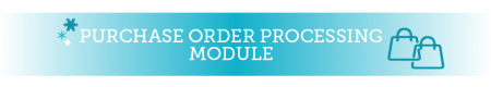 purchase order processing module